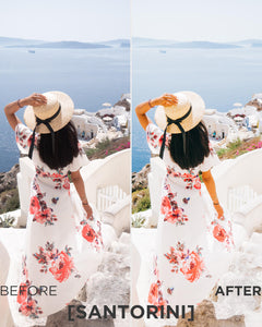 tropical lightroom presets 2018 pierre t. lambert santorini