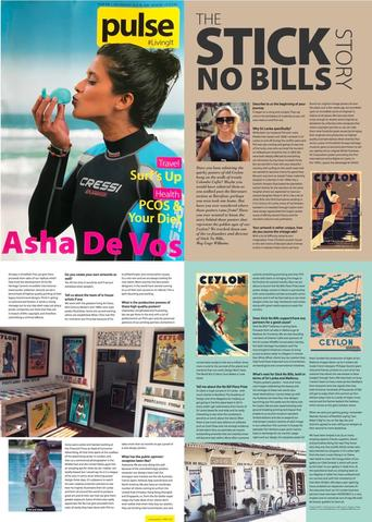 Pulse Magazine, Sri Lanka's Fashion and Lifestyle Magazine on Stick No Bills® posters