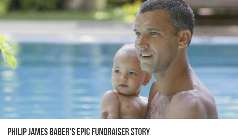 The Islander on Philip James Baber's epic fundraiser story