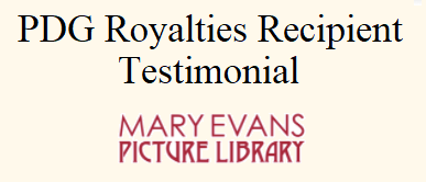 PDG Royalties Testimonial - Mary Evans Picture Library