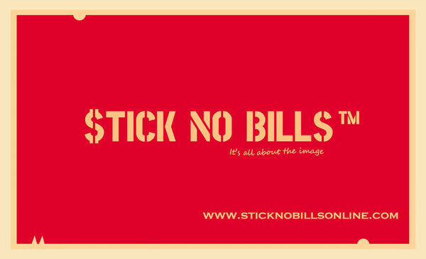 Stick No Bills® Art Vouchers