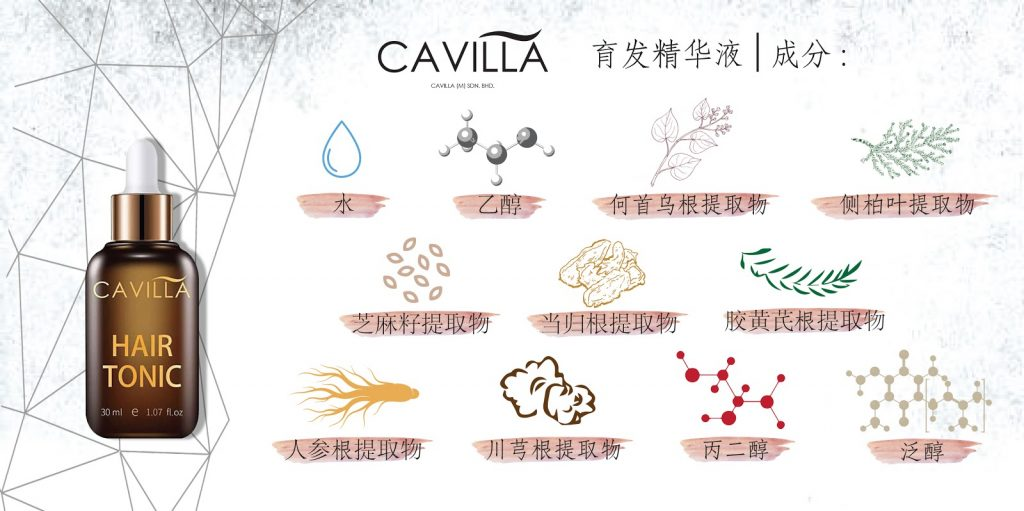 Cavilla Malaysia Way To Thicken Your Hair Exend Your Eyelash Article 04