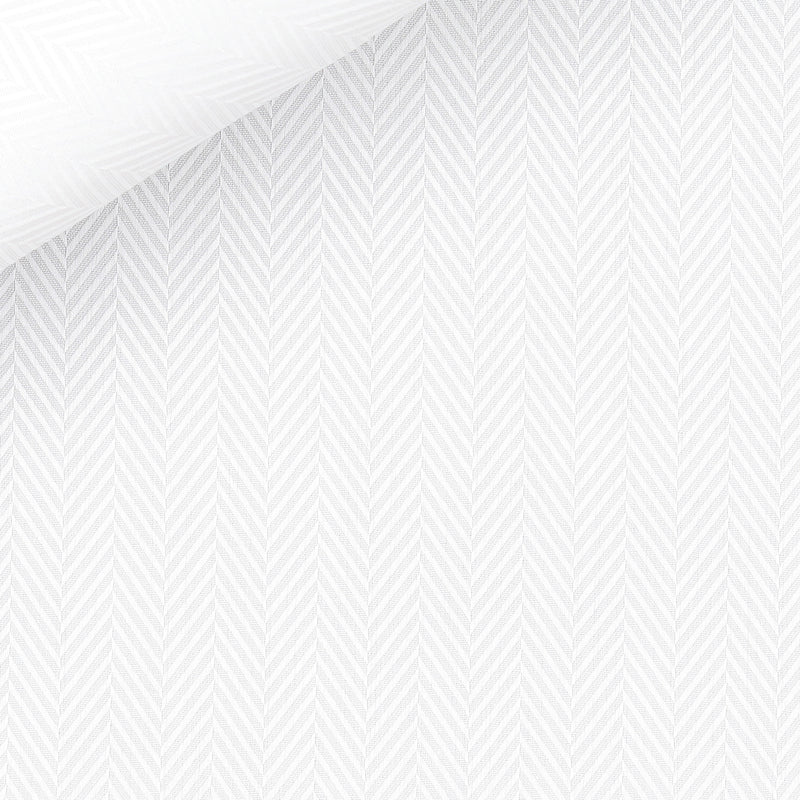 WHITE.HERRINGBONE.TWILL FM50966.1