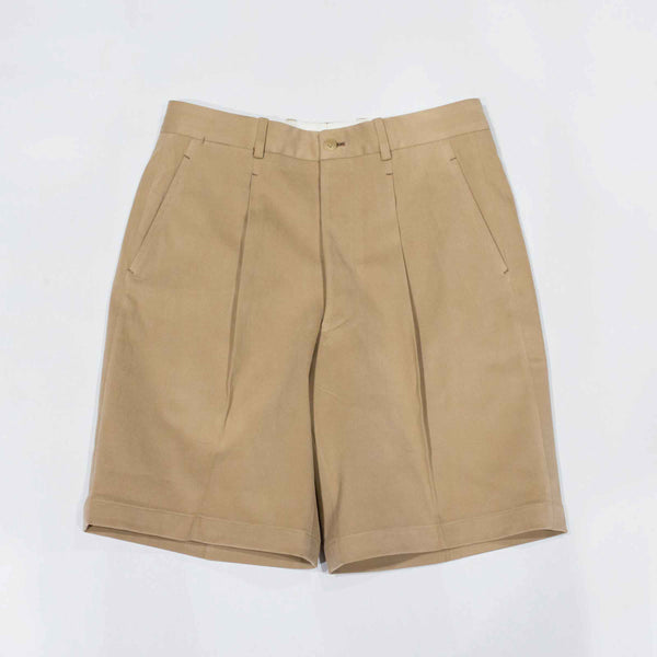 RED GANG - MTO Khaki Heavyweight (360g) Cotton Shorts