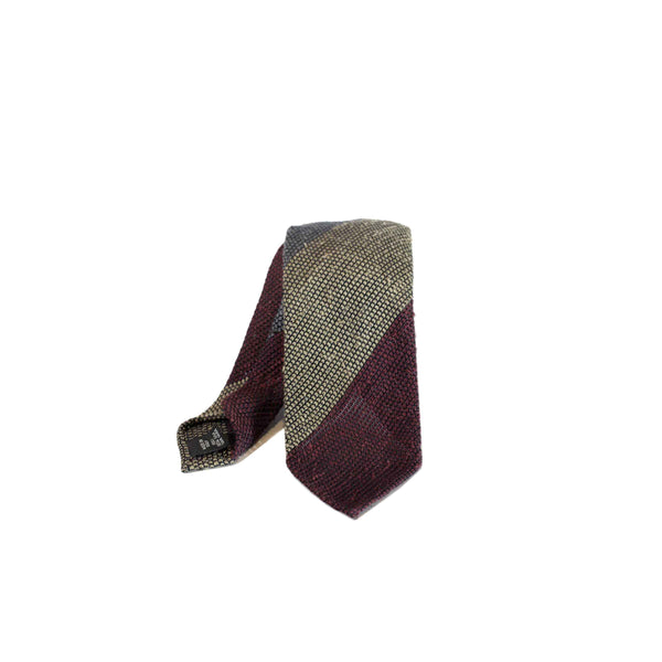 Bryceland's x SEVEN FOLD Grey Red tie ET103