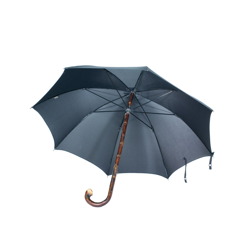 Mario Talarico chestnut wood w/ bark umbrella L1005751