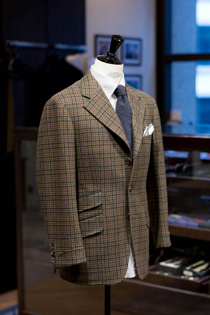 Hidden Gems Corner - Caccioppoli Dapper Dandy Extrafine Wool Riding Jacket
