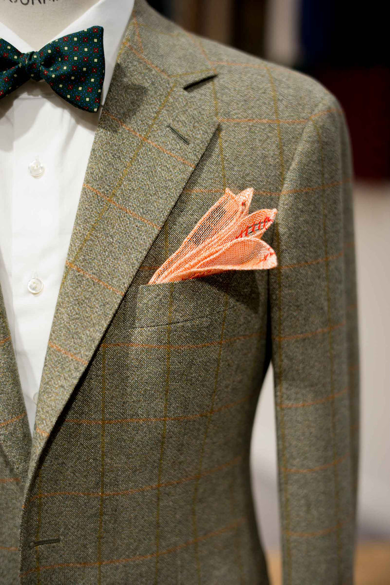 Hidden Gems Corner - Ermenegildo Zegna Cashmere Wool Windowpane Hunting Jacket