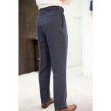 RED GANG - MTO Blue Linen Trousers