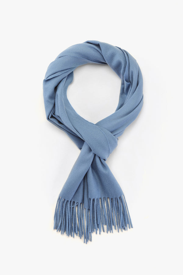 MTO Piacenza Cashmere Scarf Aeternum Baby Blue #81230-40575