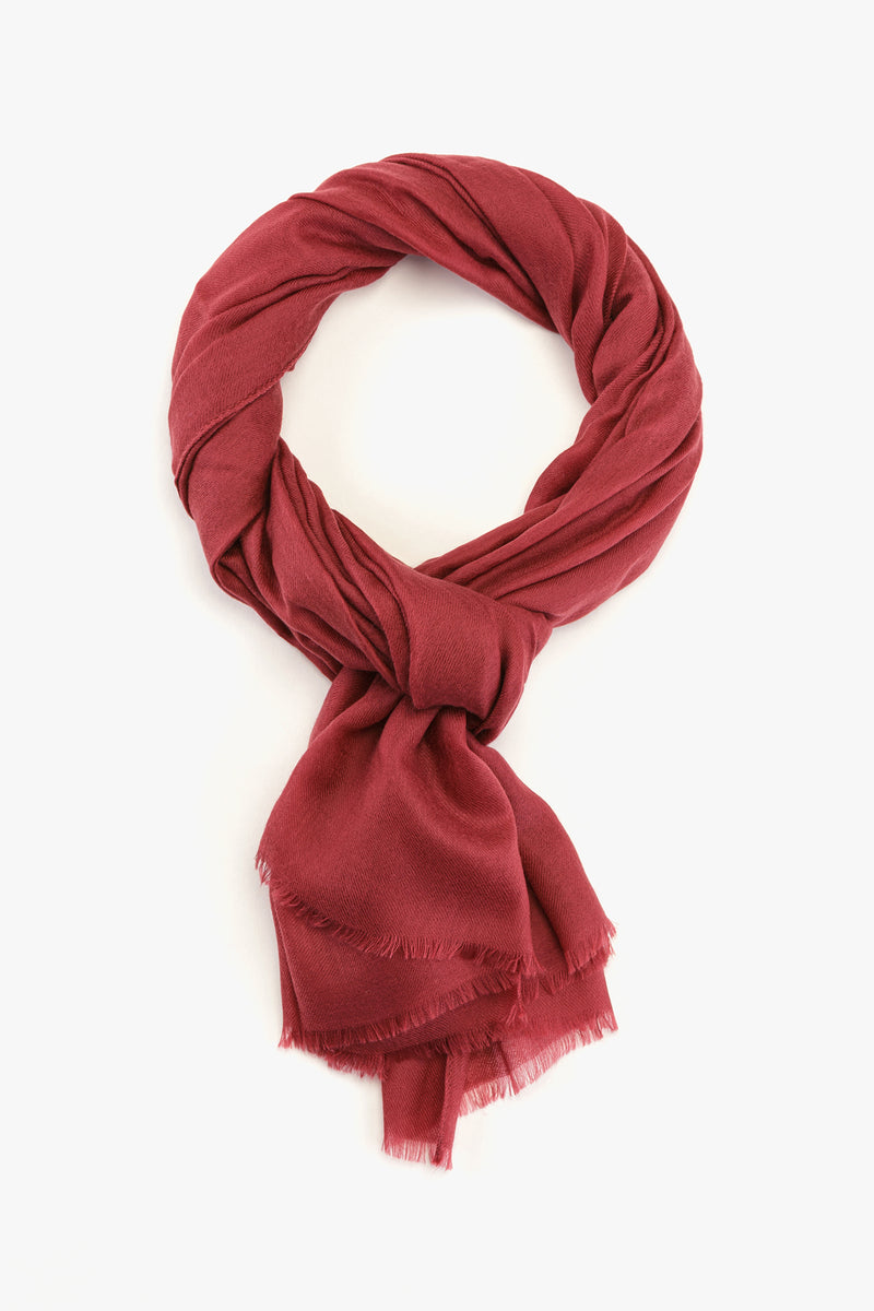 MTO Piacenza Cashmere Stole Chic Cherry Pink #81588-30215