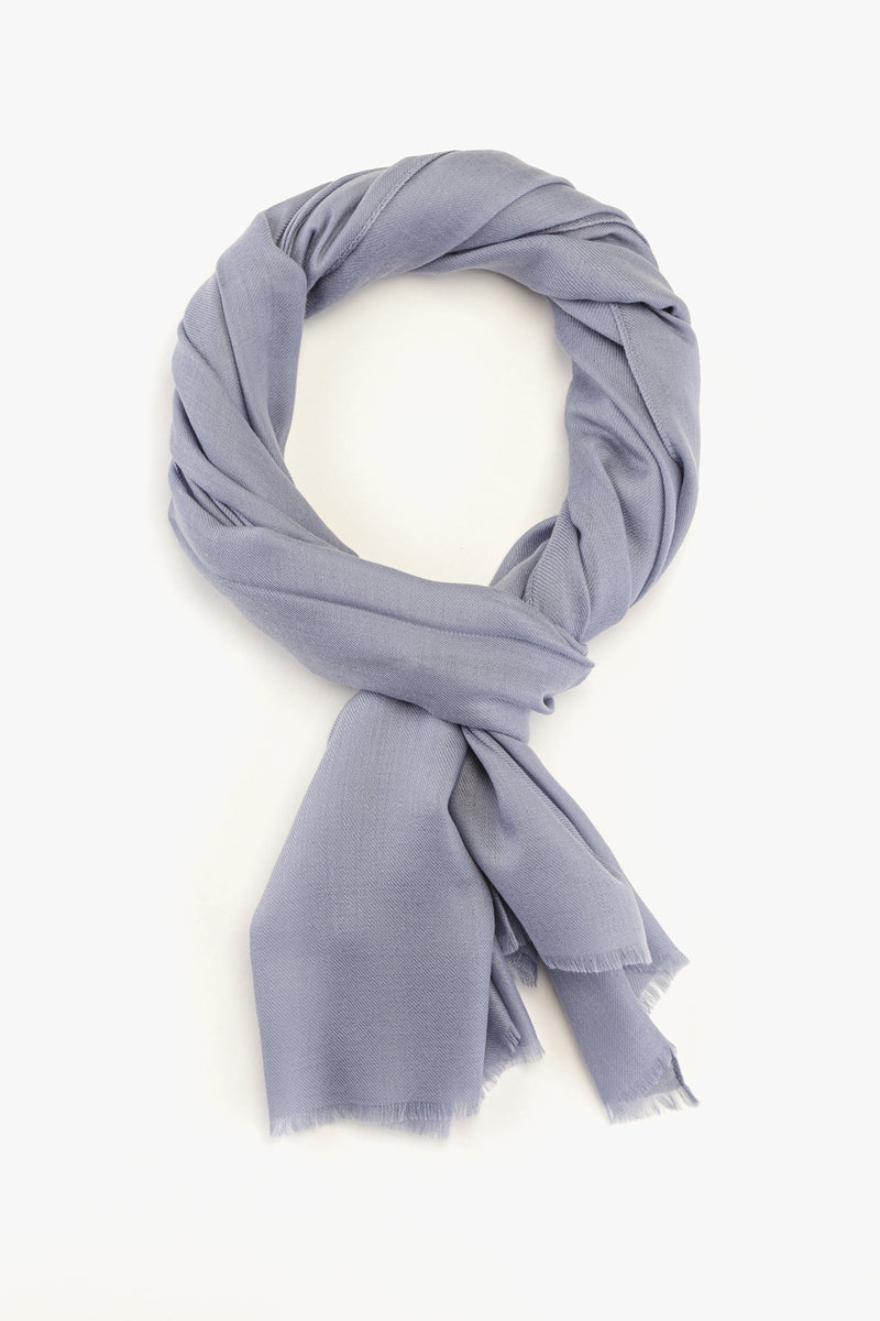 MTO Piacenza Cashmere Stole Chic Light Grey #81588-7281