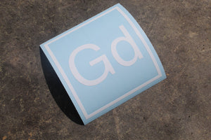 God Element Decal, Decal, God Element, #GodElement