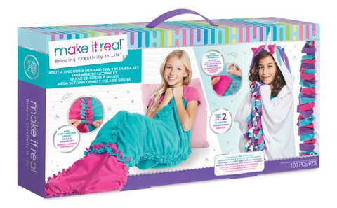 Knot a Unicorn & Mermaid Tail 2 in 1 Mega Set