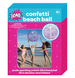 Multi-Color Confetti Beach Ball