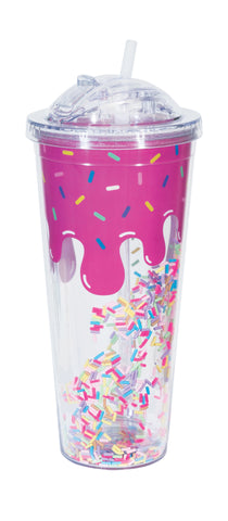 Dripping Ice Cream & Sprinkles Tumbler