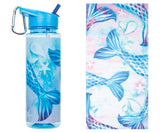 Towel and Water Bottle Set: Mermaid