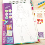 Fashion Design Sketchbook: Blooming Creativity