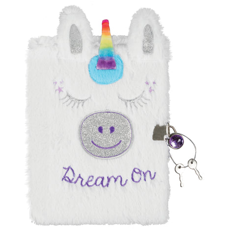 Unicorn Plush Journal