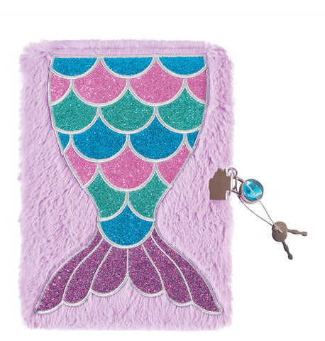 Mermaid Tail Plush Journal