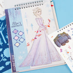 Disney Frozen 2 Fashion Design Sketchbook