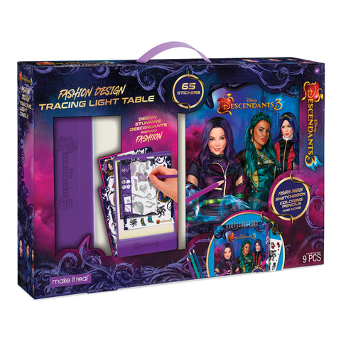 Disney Descendants 3 Sketchbook & Light Table