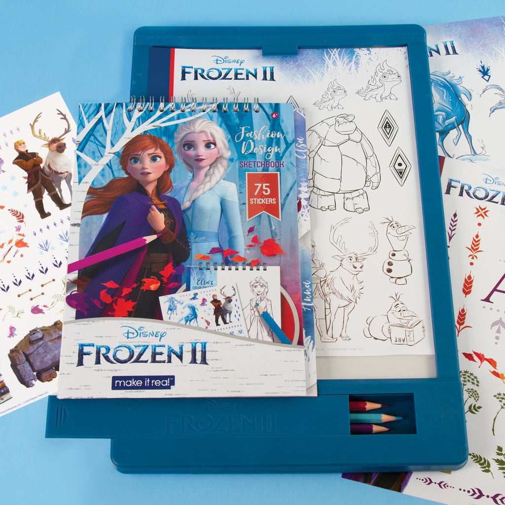 Disney Frozen 2 Fashion Design Light Table Make It Real