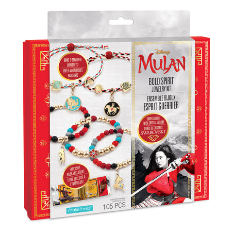 Disney Mulan Bold Spirit Jewelry Kit