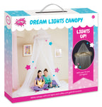 Dream Lights Canopy: White