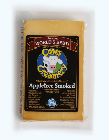 Cows - Appletree Smoked Cheddar (200g)
