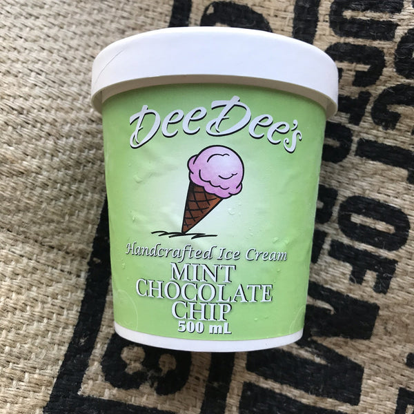 Dee Dees - Mint Chocolate Chip Ice Cream (500ml)