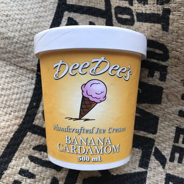 Dee Dees - Banana Ice Cream (500ml)