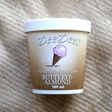 Dee Dees - Buttered Almond Ice Cream (500ml)