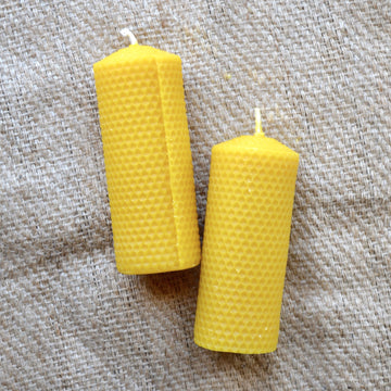 Kittilsen's - Honeycomb Pillar Candle