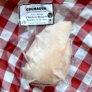 Cogmagun - Free-Range BONELESS-SKINLESS Breast (ea)