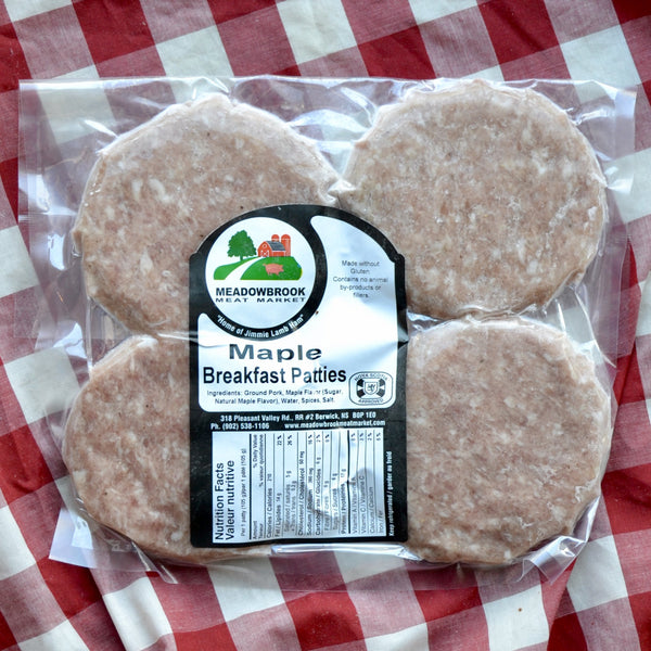 Meadowbrook - Maple Breakfast Patties (4PK)