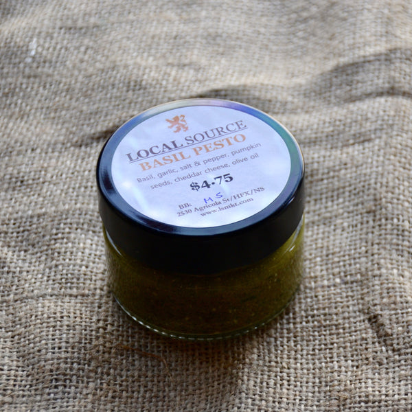 Local Source - Fresh Basil Pesto (125ML)