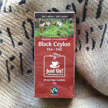 Just Us! - Black Ceylon Tea (40g EA)
