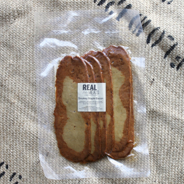 "Real Fake Meats - Smokey Maple ""Bacon"""