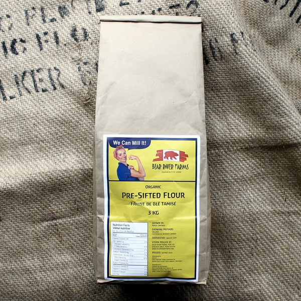 Bear River Farms - Pre-Sifted Flour (3kg)