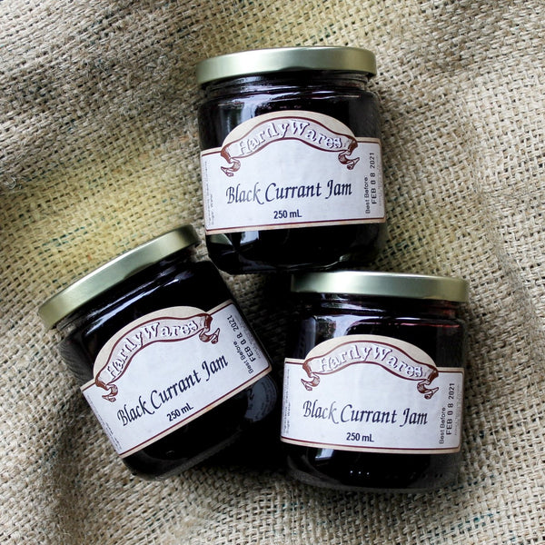 HardyWares - Black Currant Jam (250ML)