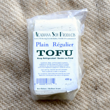 Acadiana Soy - Plain Firm Tofu (ea)