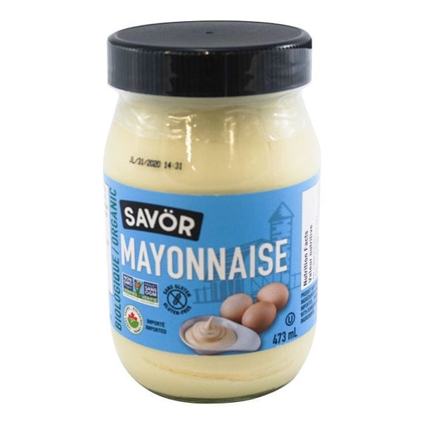 Savor - Organic Mayonnaise (473mL)