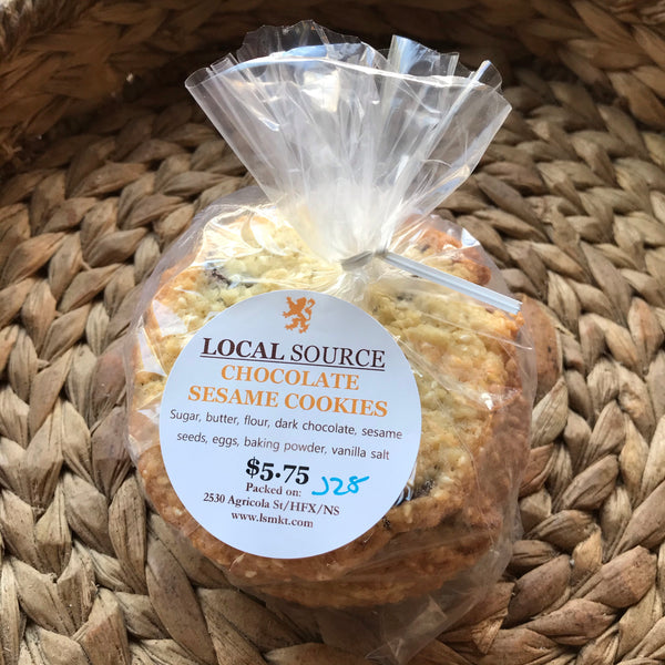 Local Source - Chocolate Sesame Cookies (6pk)