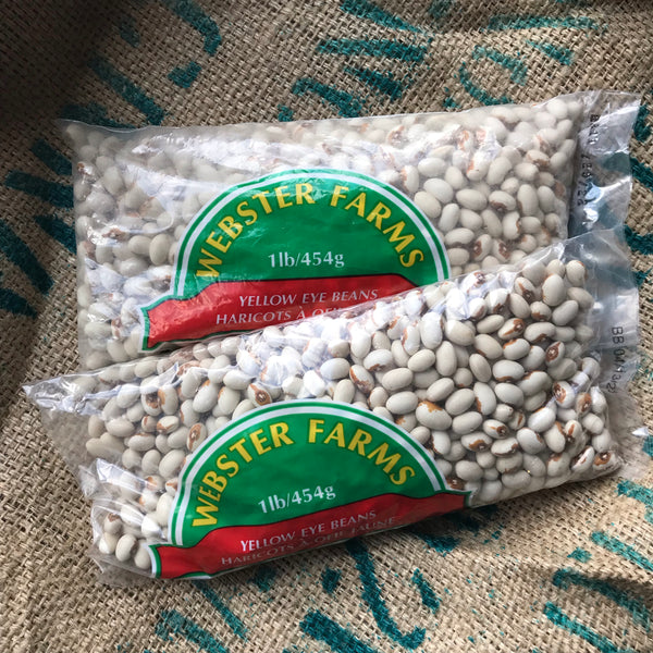 Webster Farms - Yellow Eye Beans (454g EA)