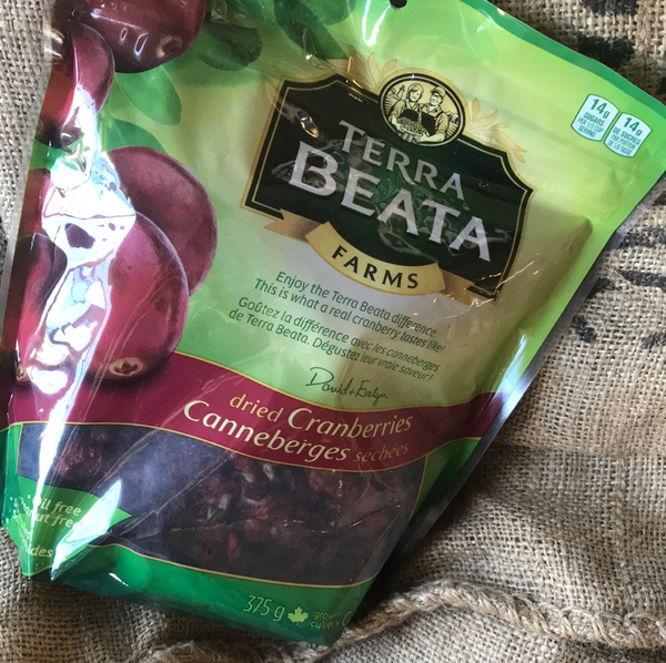 Terra Beata - Dried Cranberries (375g)