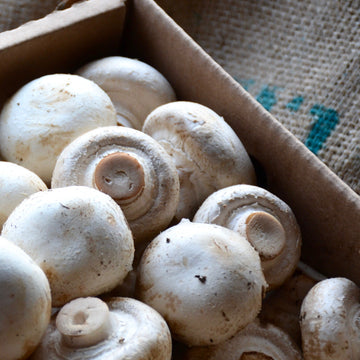 Button Mushrooms (1/2LB)