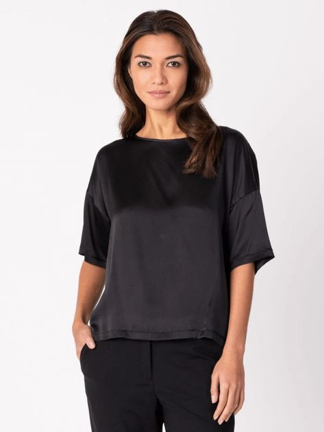 Margaret O'Leary Silk Boxy Tee