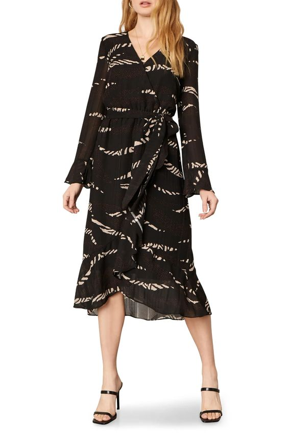 Cupcakes and Cashmere Ella Wrap Dress