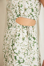Load image into Gallery viewer, Third Form Pressed Flowers Midi Dress